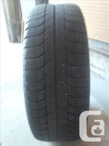 Michelin Winter Tires with Steel Wheels