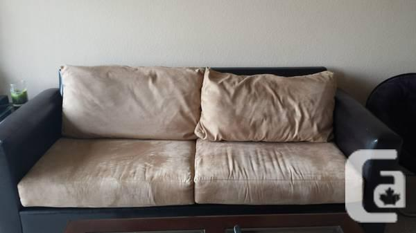 MicroFiber Sofa CLEAR as well as in Excellent Situation