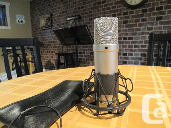 Microphone Condensateur Rode NT1A + Shock-mount - $190