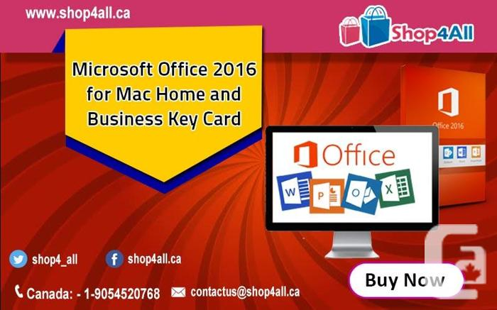 Microsoft Office 2016 For Mac Home And Business Key