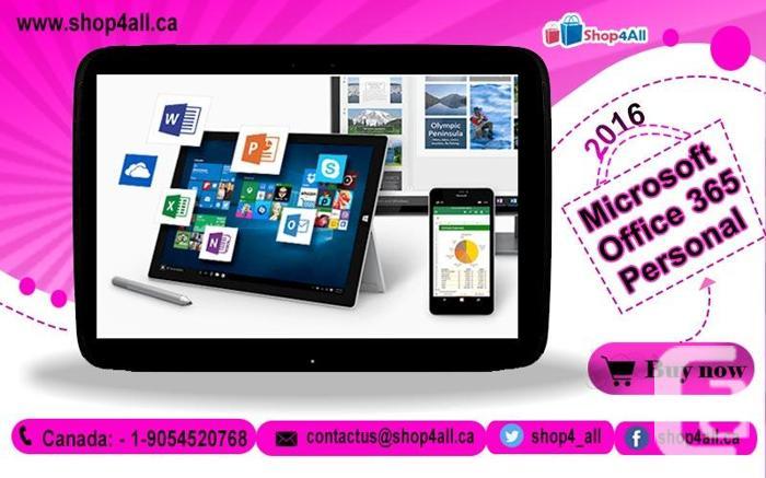 Microsoft Office 365 Personal, Ontario