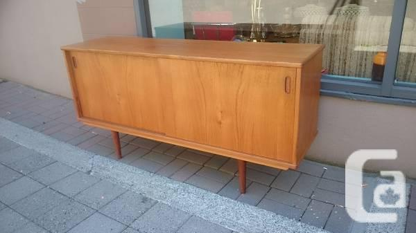Mid Century Danish Credenza : Mid century danish teak credenza 5 for sale in nanaimo british