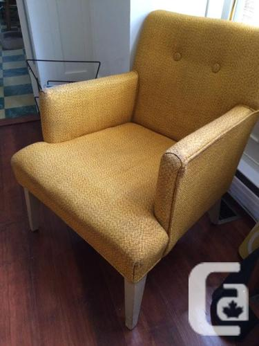 Mid-century vintage upholstered chair