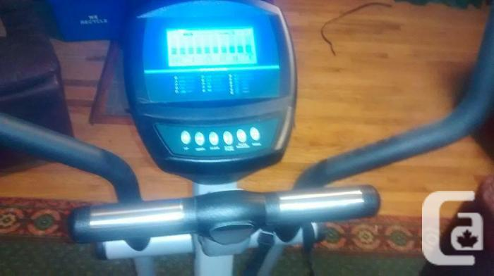 Mileage elliptical trainer to good home for sale in