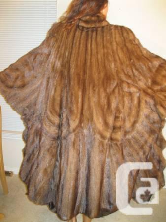 mink fur coat - $3
