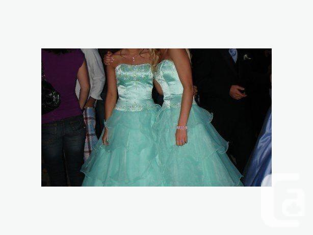Mint Green Prom Dress - Size 4
