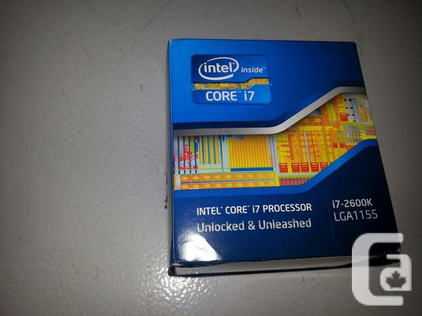 MINT I7 2600K 3.4GHZ with 3.8GHZ boost, 8 threads!!!!!!