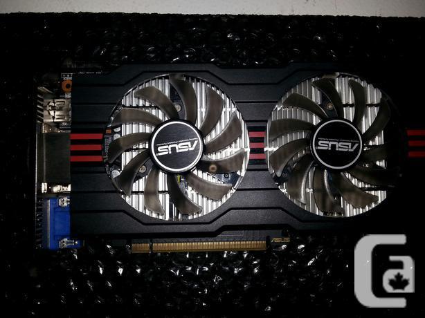 MINT PCI E 3.0 Asus GTX 650TI OC DirectCU2 ASUS