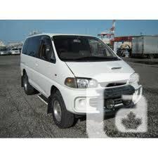 Mitsubishi Delica Minivan, 7 seater, 4X4, Turbo Diesel,
