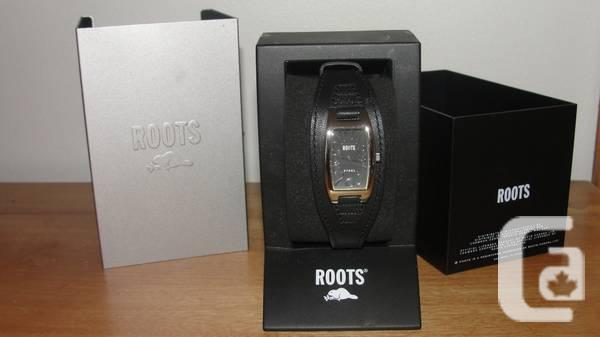 MONTRE ROOTS NEUVE/BRAND NEW ROOTS WATCH - $50