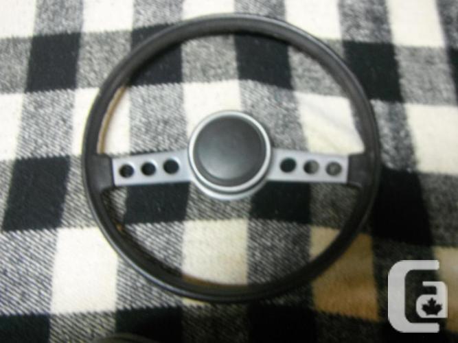 Mopar TUFF steering wheel / 70's Cuda, Challenger,