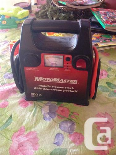 Motomaster Cellular powerpack A used to 300