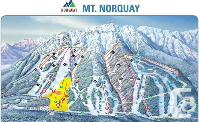 Mount Norquay Mid-week Season Pass ~ 2019