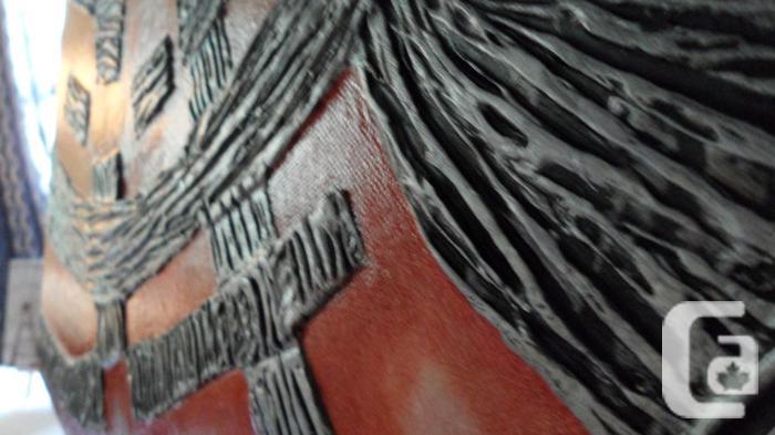 Multi Media Artwork on Canvas
