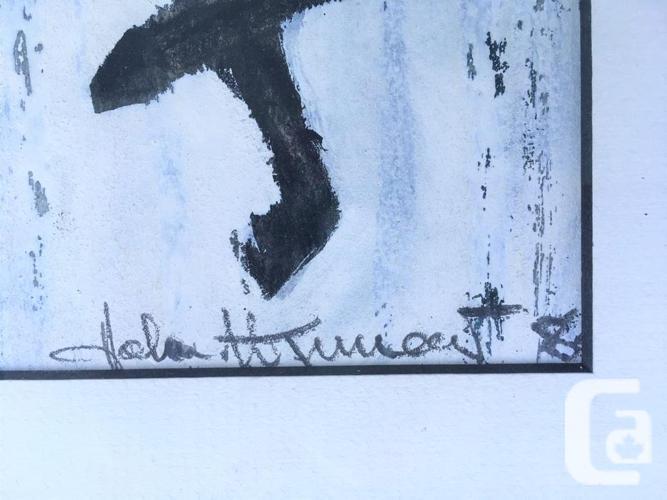 "Multi Media Original ""Dark Horse Signed New Frame,"