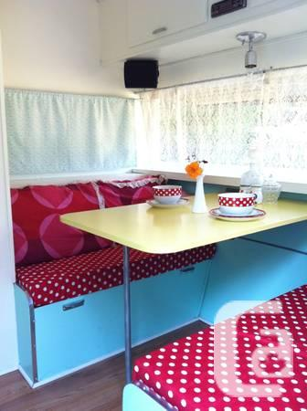 Must-See Classic Refinished 14ft Vacation Trailer -