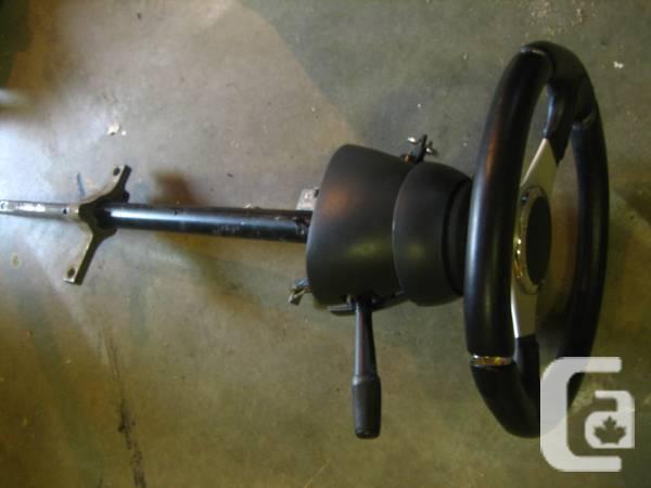 Mustang column and Momo steering wheel - $300