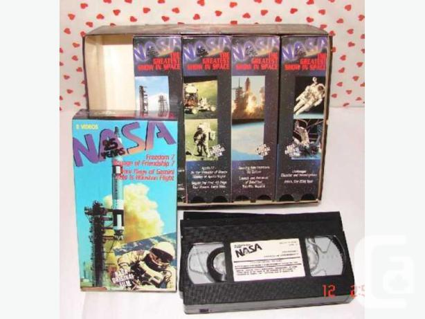NASA 25 YEARS THE GREATEST SHOW IN SPACE VHS 1-10