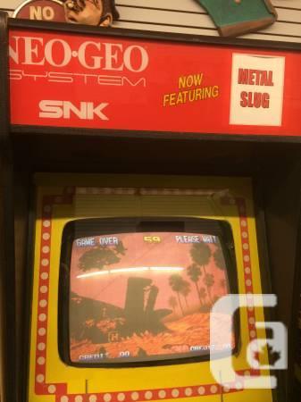 Neo-Geo Arcade System SNK - $400