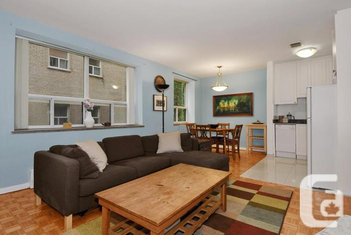 New 1BD in Annex-Yorkville! Steps to Bloor & Downtown!
