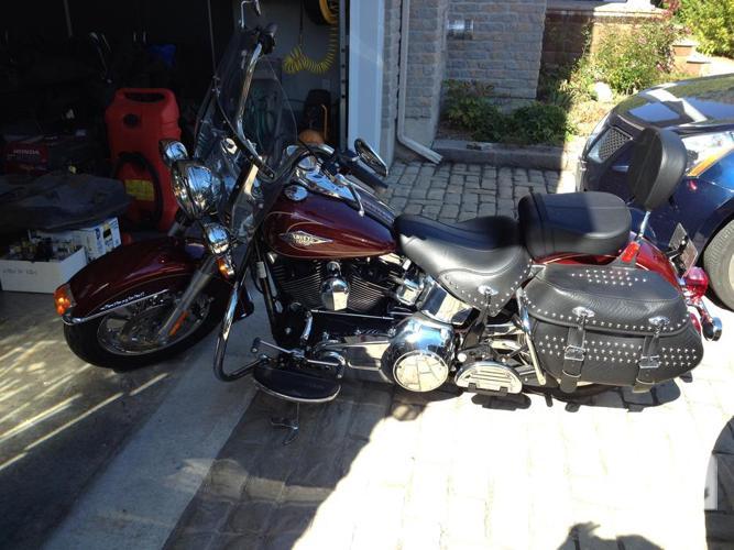 New 2010 Harley Davidson FLSTC Heritage Classic