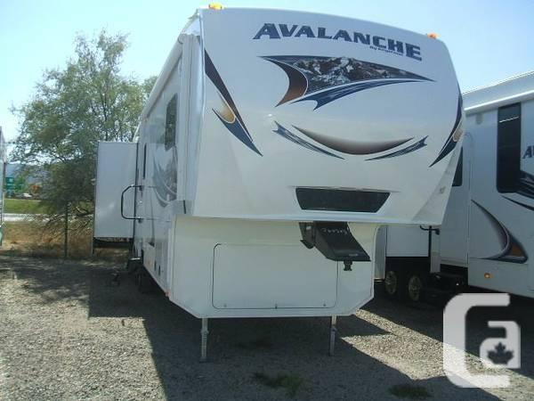 New 2013 Keystone Avalanche 345TG triple slide 5th