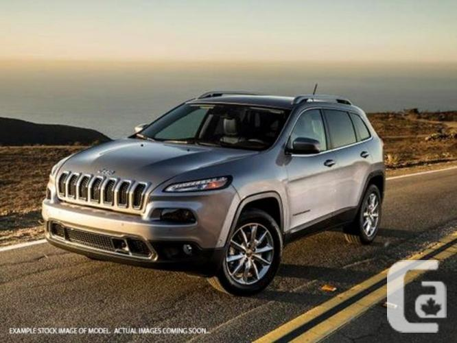 New 2016 Jeep Cherokee 75th Anniversary 4x4 Backup Cam