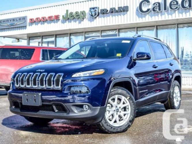 New 2016 Jeep Cherokee NEW Car North 4x4 Bluetooth Pwr