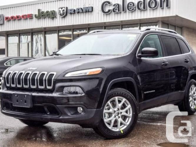 New 2016 Jeep Cherokee North 4X4 Backup Cam Bluetooth