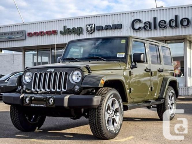 New 2016 Jeep Wrangler Unlimited Sahara 4x4 Dual Top