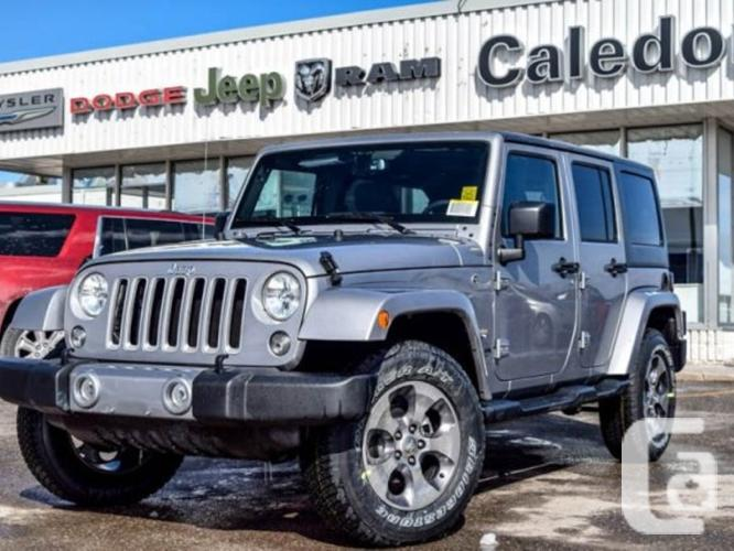 New 2016 Jeep Wrangler Unlimited Sahara 4x4 Hard Top