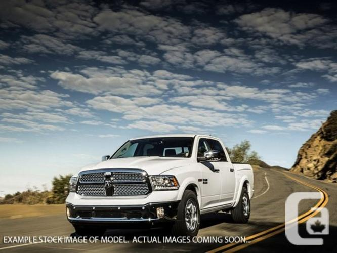 New 2016 Ram 1500 Laramie 4x4 Diesel Ram Box Backup Cam