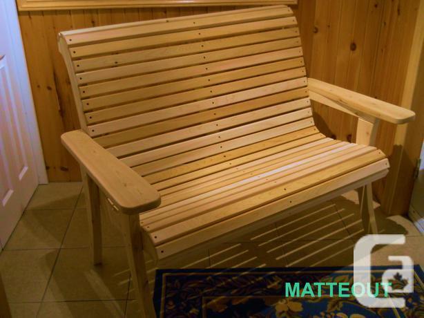 NEW!!!  All Cedar Garden Bench