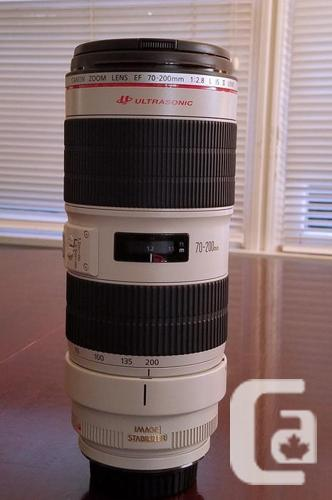 New Canon EF 70-200mm f/2.8L IS II USM Lens,