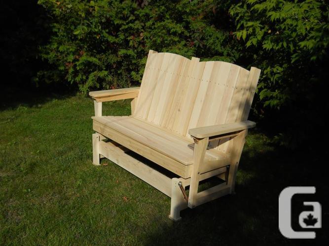New Cedar Gliding Chair