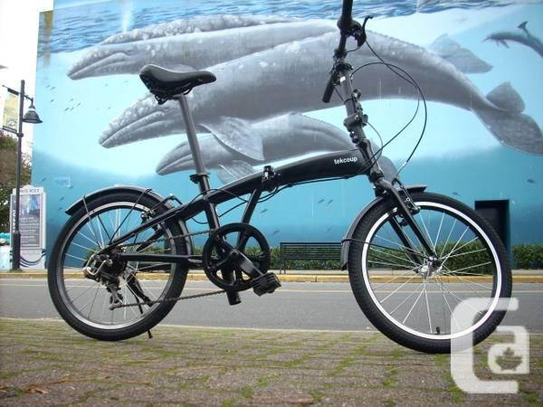 New Folding Bikes - Black 7speed Aluminum - $409