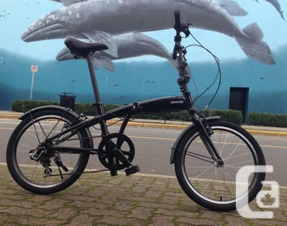 New Folding Bikes- Black, Aluminum, 7speed - $409