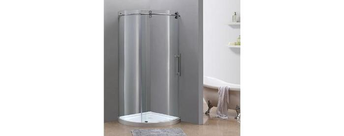 New Frameless Round Shower Stall, London