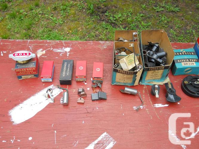 New Ignition Parts & Brake Shoes 1975 & Prior.