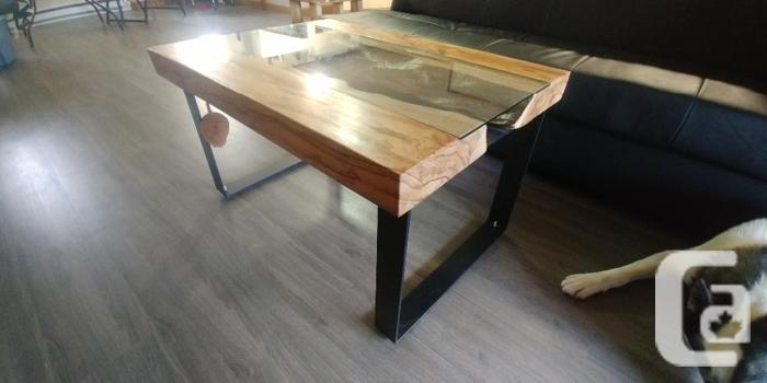 New Live Edge Maple Table For Sale In Cassidy British Columbia