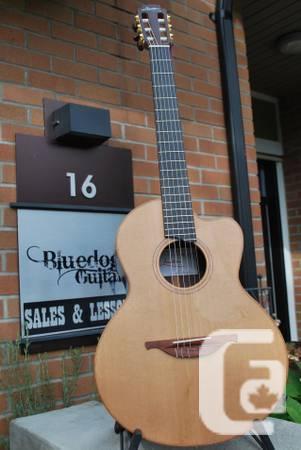 New Lowden S25J Jazz Nylon Guitar with pick-up & 1 3/4