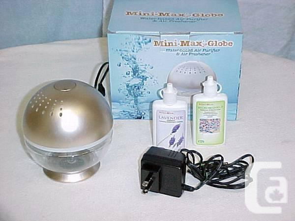 New Mini Max Globe Water Based Air Purifier U0026 Air