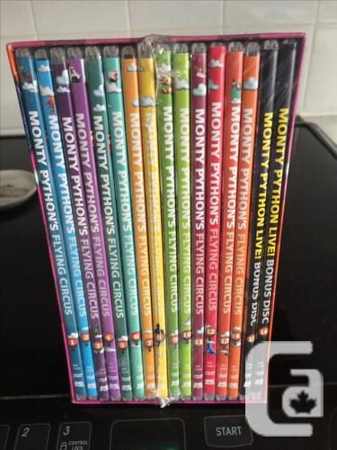 New Monty Python DVD Set