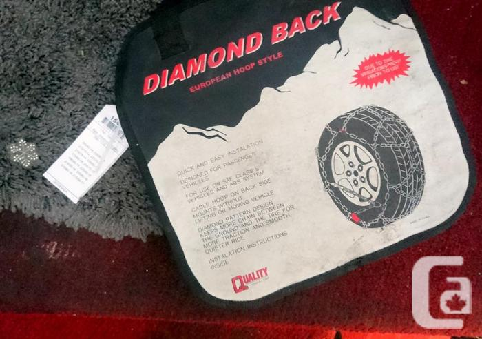 New/Never used 2-Tire Chains fits 13-tire sizes, chk