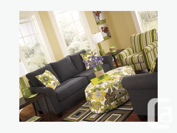 New Nolana Charcoal Sofa Collection