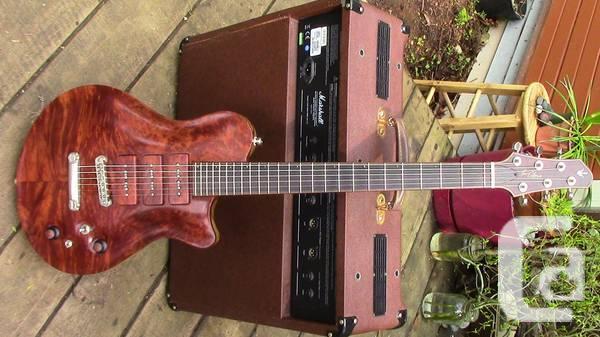 New Orleans Voodoo Electric Guitar - $3000