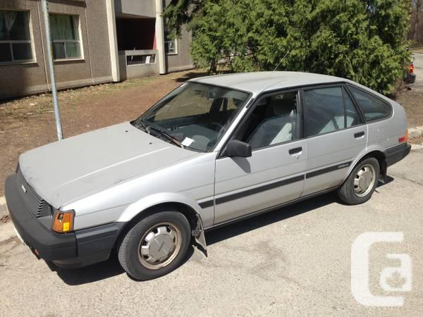 NEW PRICE - 1985 Toyota Corolla for sale great