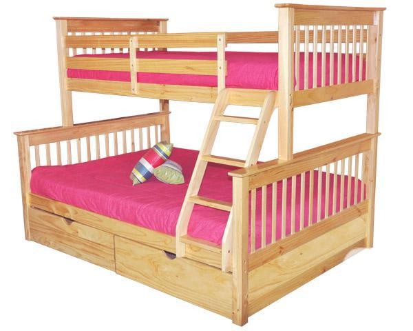 New solid wood bunk beds 3 sizes 3 stains 15 off for for L furniture warehouse victoria bc