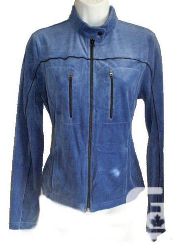 NEW - Tommy Hilfiger Blue Velvet Sporty Jacket - Small