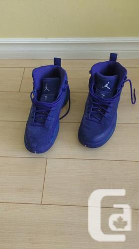 Nike Air Jordan 12 Retro Deep Royal Blue Suede 6.5 M